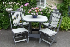 Butterfly Folding Chairs and Table