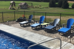 Chaise Lounge Poolside