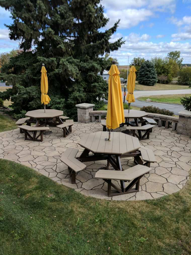 Seize the Day with Outdoor Seating!