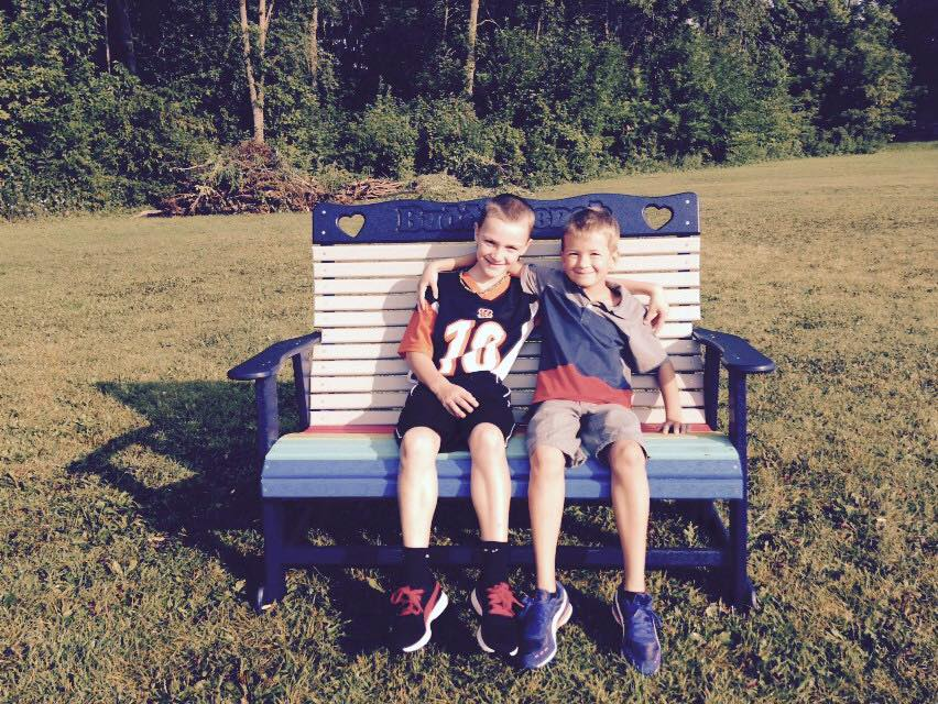 Buddies on the Buddy Bench