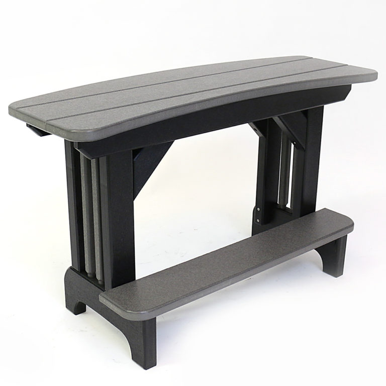 Americana Curved 40 Inch Bench Balcony Height - ST29