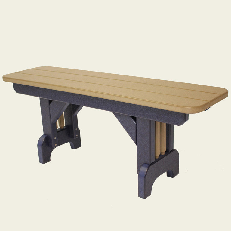 Americana Straight 44 Inch Bench Dining Height - ST30