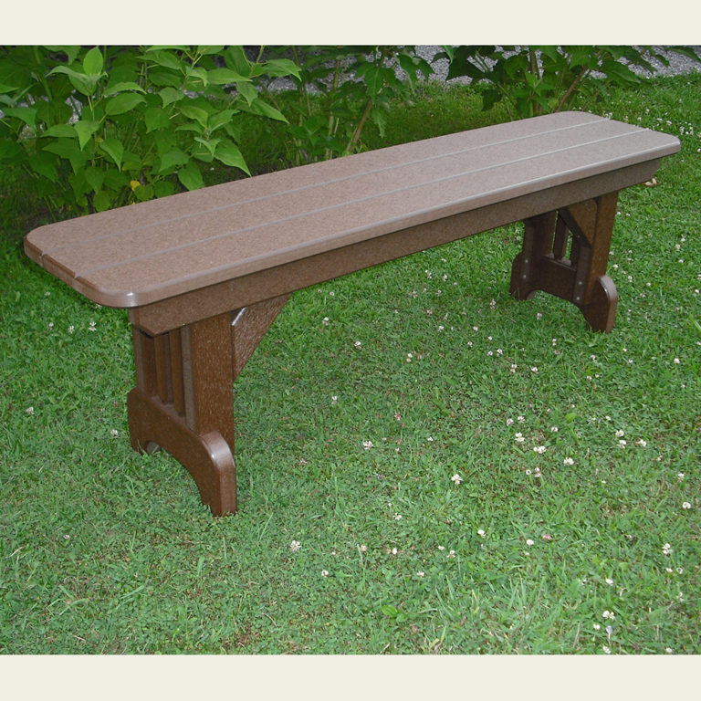 Americana Straight 54 Inch Bench Dining Height - ST31