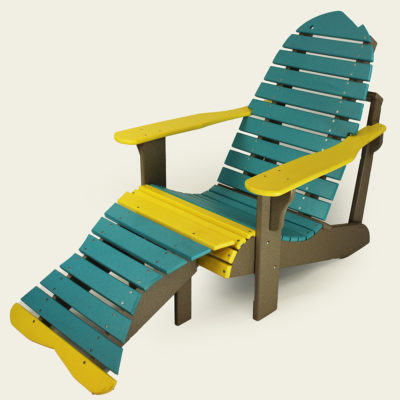 Fish Chair with Tail Footrest - EM01 & EM02