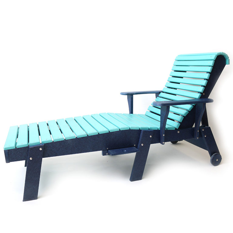 High Roller Ergonomic Chaise Lounge With Arms - ABR06