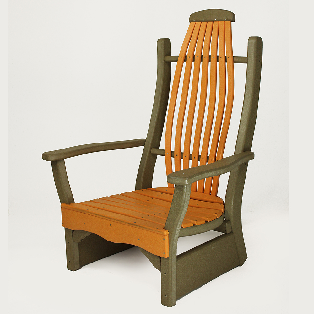 Beach leisure chairs the amish craftsmen guild ii