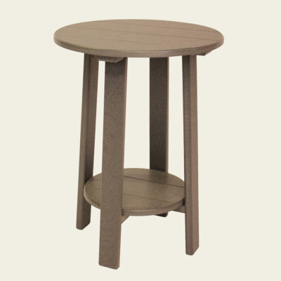 Round Balcony Accent Table - JH250