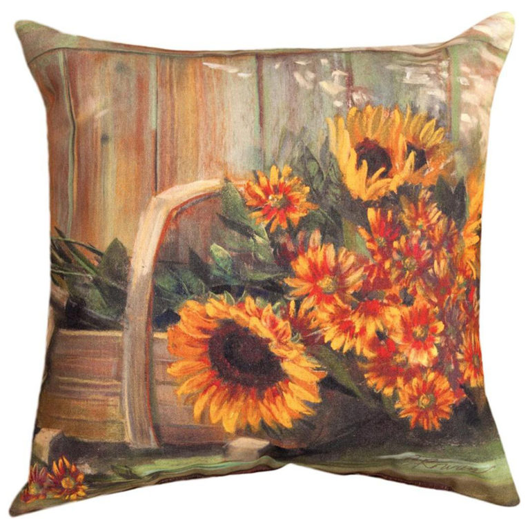 Harvest Moon Accent Pillow