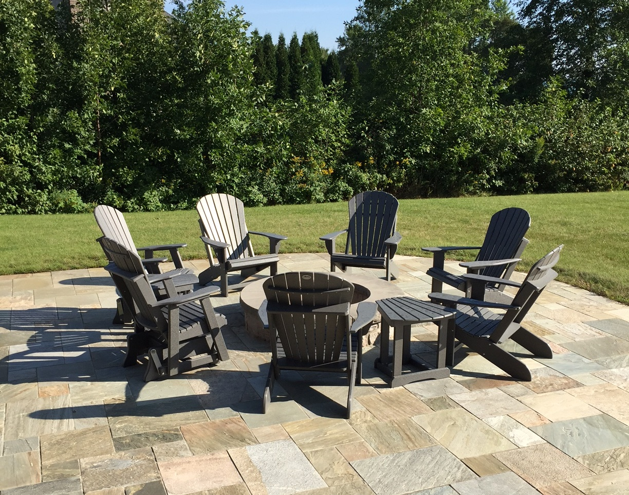 Fanning the Fire with Fanback Adirondack's & Gliders