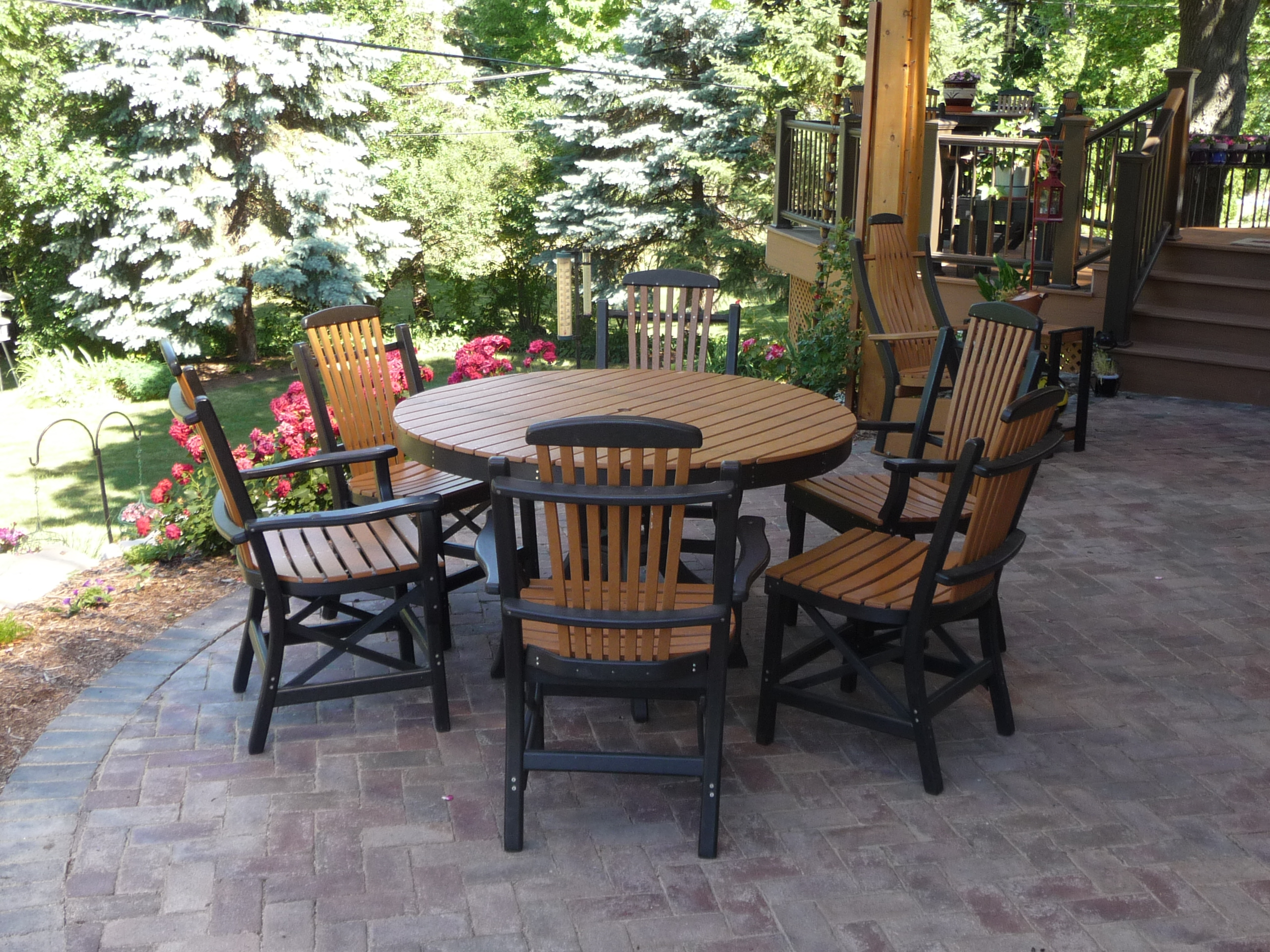 Patio and Chairs