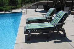 Laidback Pool Chaise Lounges
