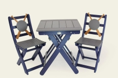 Baseball Table and Chair Set