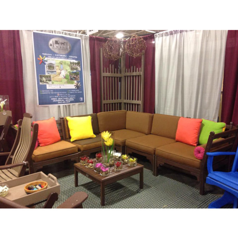 Americana Sectional Sofa with Ottoman
