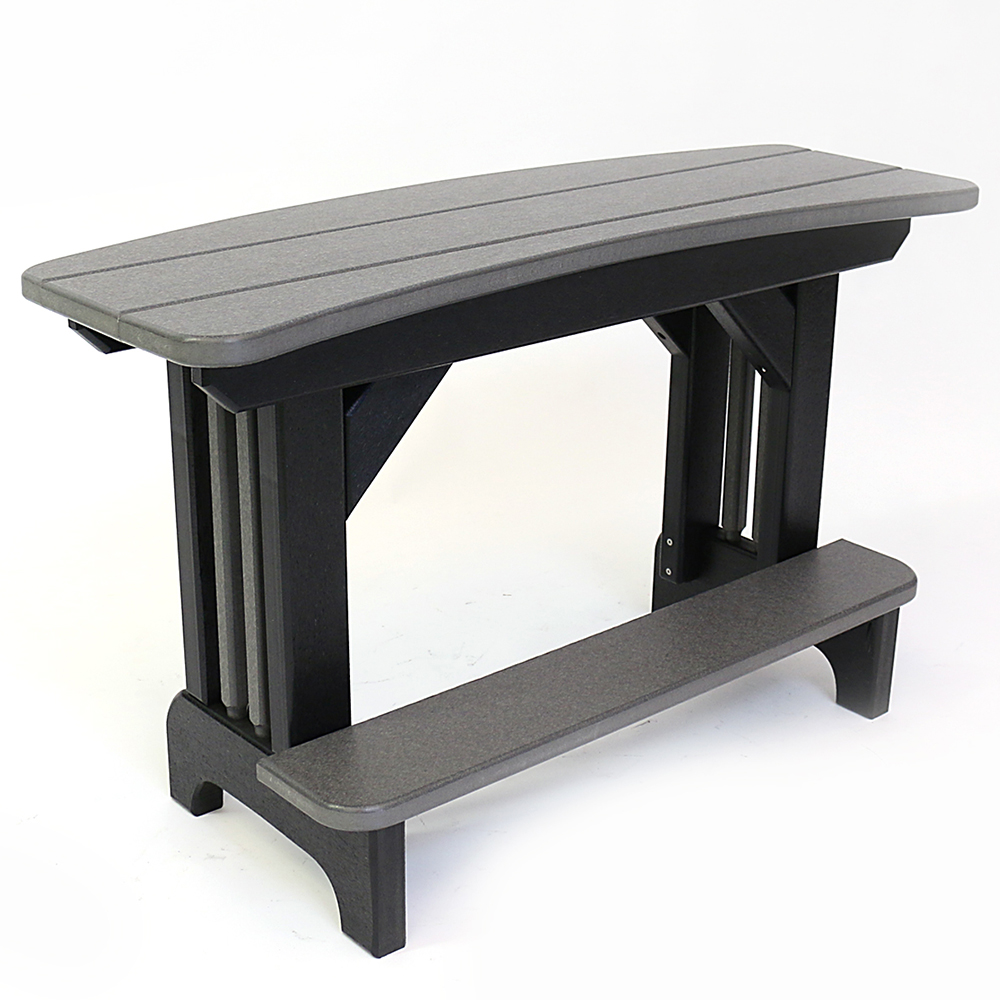 Outstanding Americana Curved 40 Inch Bench Balcony Height St29 The Ibusinesslaw Wood Chair Design Ideas Ibusinesslaworg