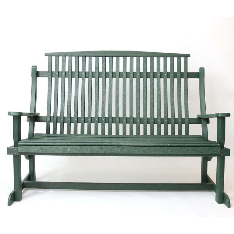 Classic Triple Stationary Bench
