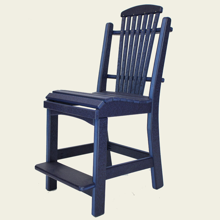 Deacon's Roll Side Chair Balcony Height - JH393