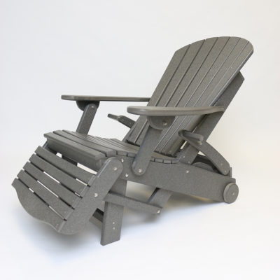 Fanback Recliner - WOF30 - Partially Reclined