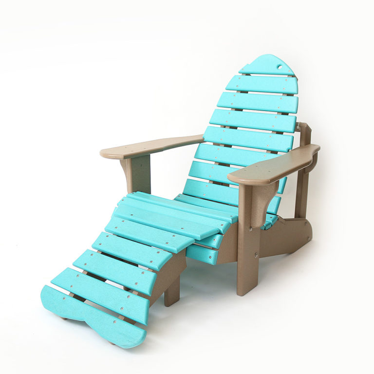 Youth Fish Chair With Tail - EM05