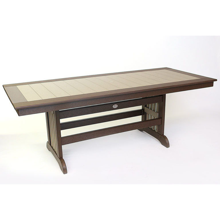 Artisan Mission Base Dining Height 36x84 Inch Table - JH535