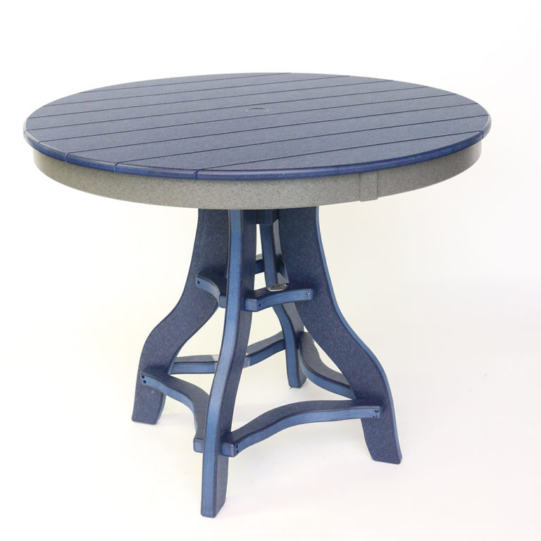 Deacon's Round 44 Inch Table Balcony Height - JH307