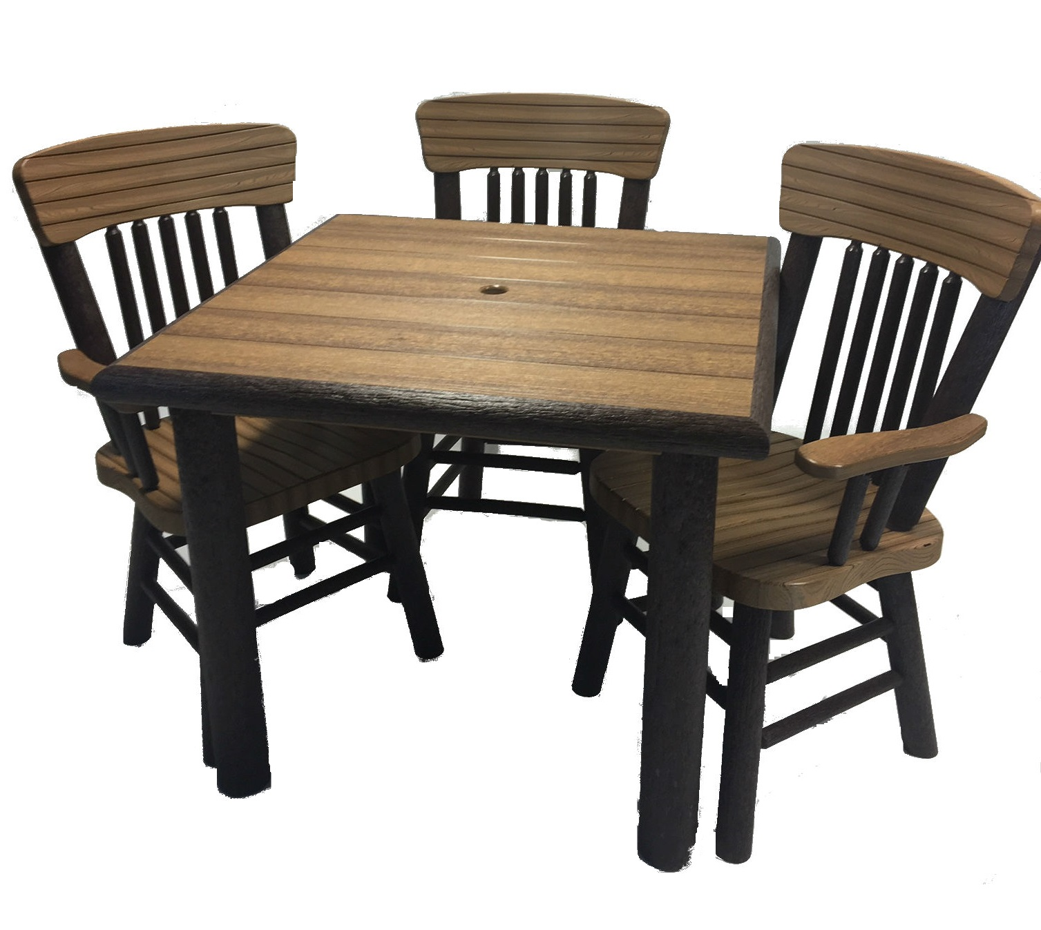 Great Woods Rustic Dining Height Table and Chairs