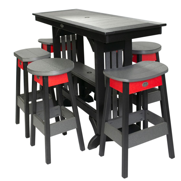 Pub Height Tapas Table JH770 With Different Stools