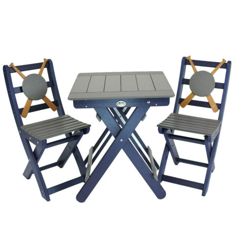 Baseball Gossamer Table and Chairs