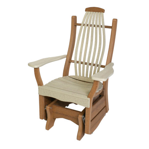 Deacon's Bentwood Rustic Single Glider
