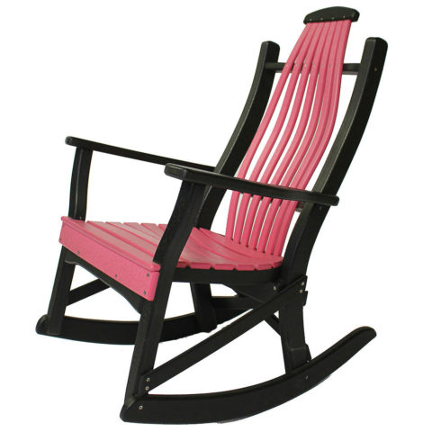 Deacons Single Rocking Chair Dining Back
