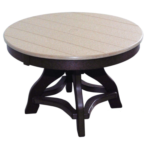 "32"" Round Chat Table With Umbrella Hole & Plug"