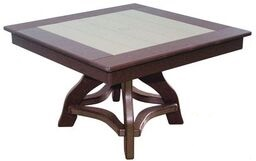 32 Inch Square Chat Table