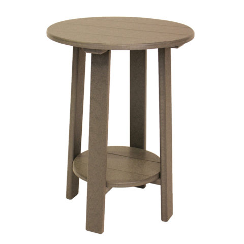 Round Balcony Accent Table