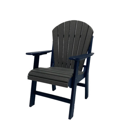 Low Fanback Dining Captain's Chair